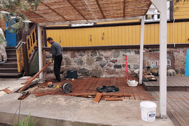 Lauko kavinės, kavinė<br>R.Danisevičiaus nuotr.
