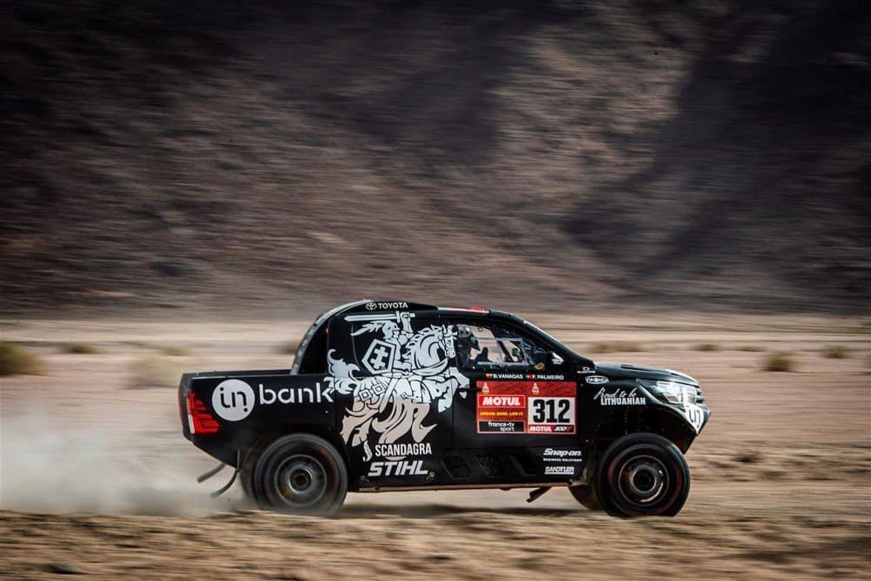 """Nuo 2021-ųjų Dakaro ralyje sulauksime naujovės iš praeities – istorinės automobilių klasės """"Dakar Classic"""".<br>Ryčio Šeškaičio nuotr."""