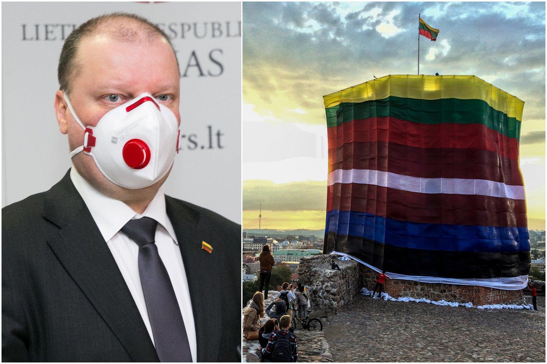 Lietuvos premjeras pranešė, kad su Latvijos ir Estijos vyriausybių vadovais pavyko sutarti dėl sienų atvėrimo.<br>Lrytas.lt koliažas
