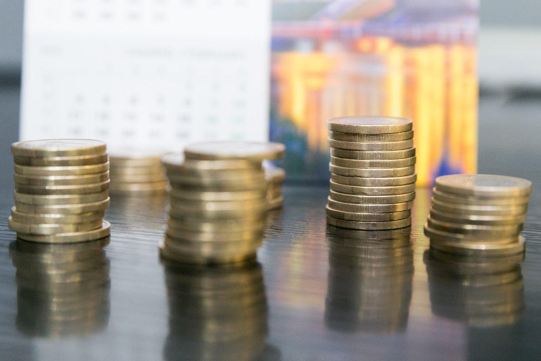 Tarp 20 šalių, kurios tyrė savo penkiolikmečių mokinių finansinį raštingumą, Lietuva užima 8–10 pozicijas.<br>T.Bauro nuotr.