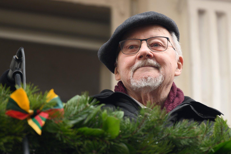 V.Landsbergis sutiko liudyti byloje dėl užginčyto R.Karpavičiaus testamento.<br>V.Skaraičio nuotr.