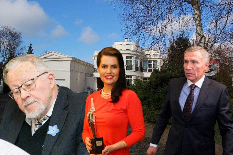 V.Landsbergis sutiko liudyti byloje dėl užginčyto R.Karpavičiaus testamento.<br>lrytas.lt montažas.