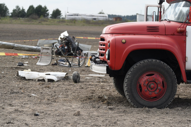 Nukritus lėktuvui žuvo du vyrai.<br>V.Skaraičio nuotr.