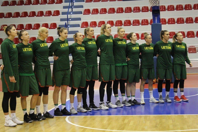 Lietuvos moterų krepšinio rinktinė<br>fiba.com nuotr.