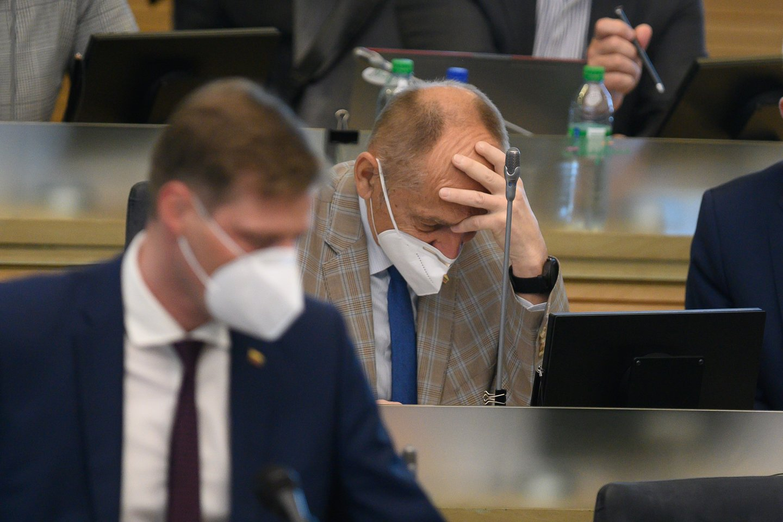 Kęstutis Mažeika, Algimantas Kirkutis<br>V.Skaraičio nuotr.