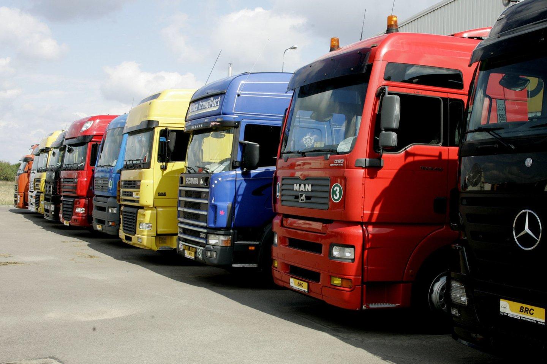 Lietuvos ekonomikos varikliu laikytas transporto sektorius šiandien išgyvena ne pačias lengviausias dienas.<br>R.Jurgaičio nuotr.