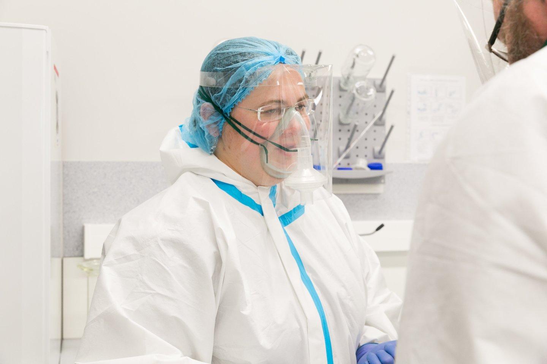 VU GMC Laikinoji diagnostinio testavimo laboratorija<br>T.Bauro nuotr.