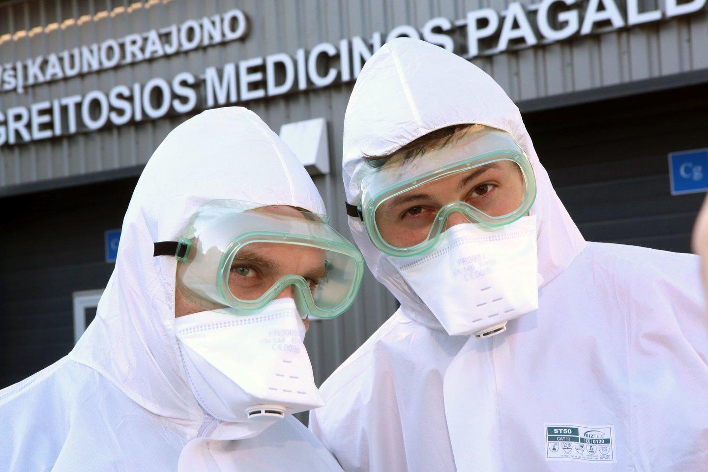 Lietuvos medikų sąjūdis skelbia, kad medikai taip ir nesulaukė aiškių žadėtų priedų.<br>M.Patašiaus nuotr.