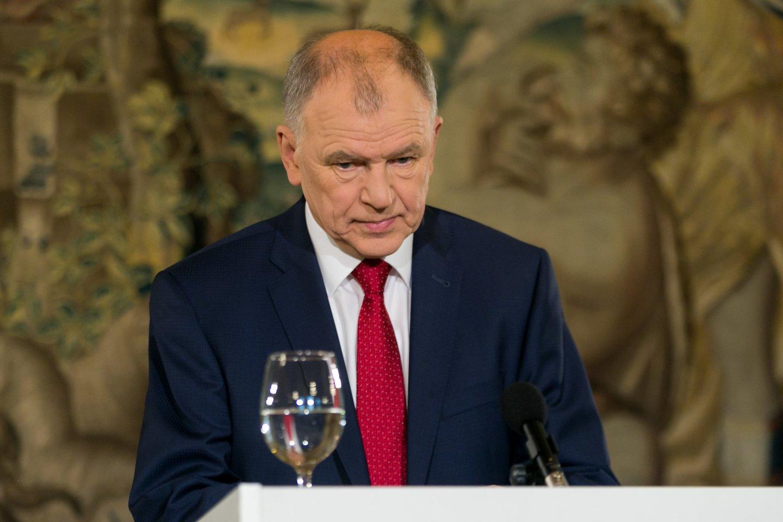 V.Andriukaitis sau suteikė skambesnes pareigas, nei yra iš tikrųjų.<br>T.Bauro nuotr.
