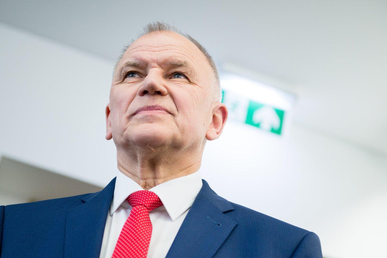 V.Andriukaitis sau suteikė skambesnes pareigas, nei yra iš tikrųjų.<br>J.Stacevičiaus nuotr.