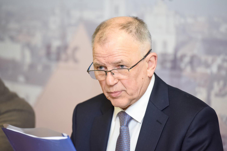 V.Andriukaitis sau suteikė skambesnes pareigas, nei yra iš tikrųjų.<br>D.Umbraso nuotr.