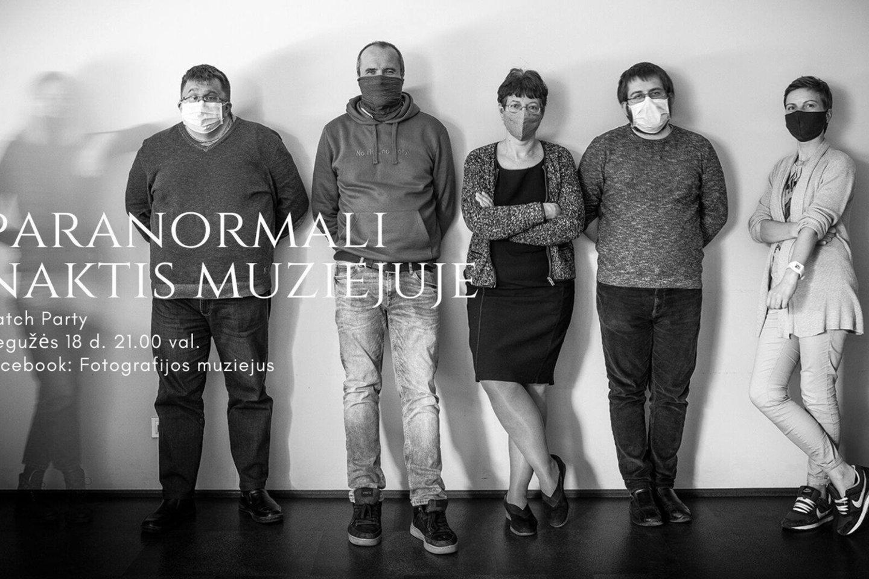 """Fotografijos muziejus Šiauliuose pirmadienį 21 val. pristatys specialiai Muziejų nakčiai ir Muziejų dienai paminėti skirtą projektą """"Paranormali naktis muziejuje""""."""