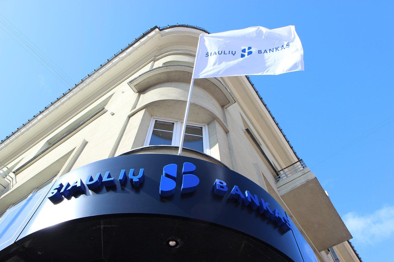 """""""Šiaulių bankas"""" yra pasirašęs opcionų sutarčių su banko ir jo patronuojamųjų įmonių darbuotojais.<br>Banko nuotr."""