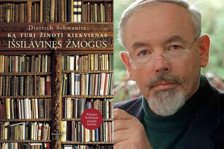 Knygoje D.Schwanitzas plėtoja idėją, kad, norint įgyti bendrąjį išsilavinimą, reikia po truputį nusimanyti kiekvienoje srityje.