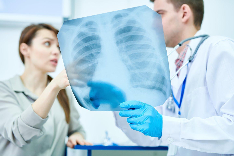 Lietuvoje kasmet nuo tuberkuliozės miršta daugiau kaip šimtas žmonių – po vieną kas trečią dieną.<br>123rf nuotr.