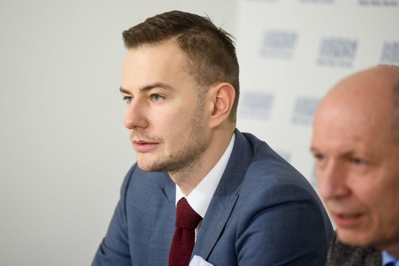 Šarūnas Narbutas, Pagalbos onkologiniams ligoniams asociacijos POLA prezidentas.<br>D.Umbraso nuotr.