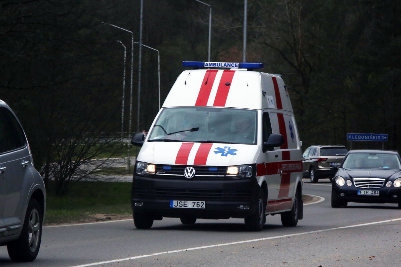 Po apžiūros vaikas paguldytas į ligoninę.<br>M.Patašiaus asociatyvi nuotr.