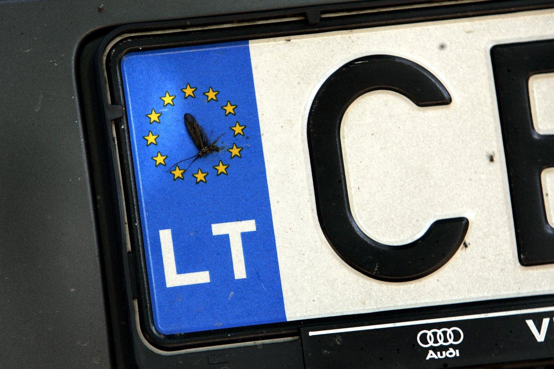 Norintieji savo automobilį paženklinti išskirtiniais numerio ženklais galės rinktis iš dar daugiau derinių.<br>V.Balkūno nuotr.