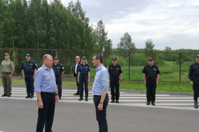 Nuo šiandien vykstantiems į Lenkiją ir atgal į Lietuvą nebelieka jokių apribojimų kertant sienas, taip pat nebereikės laikytis saviizoliacijos.<br>M.Patašiaus nuotr.