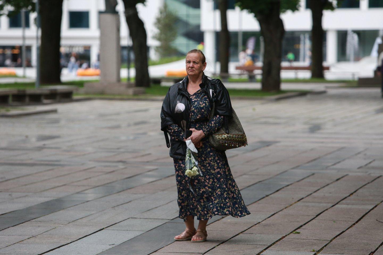 Kaune visą savaitgalį vyksta Gedulo ir vilties dienos renginiai.<br>G.Bitvinsko nuotr.