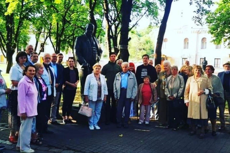 Kaune visą savaitgalį vyksta Gedulo ir vilties dienos renginiai.<br>Facebook/A.Baronienės nuotr.