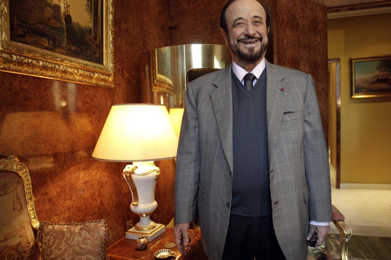 Paryžiaus teismas Sirijos prezidento Basharo al-Assado dėdei Rifaatui al-Assadui skyrė 4 metų laisvės atėmimo bausmę už pinigų plovimą ir Sirijos valstybės biudžeto lėšų iššvaistymą.<br>AP/Scanpix nuotr.