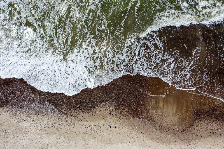 Baltijos jūra.<br>V.Ščiavinsko nuotr.