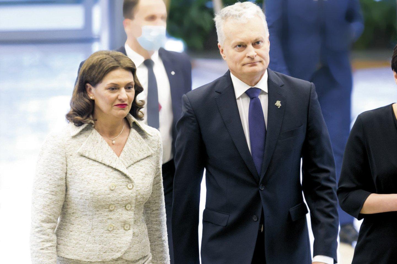 Birželio 18-ąją Lietuvos prezidentas Gitanas Nausėda (56 m.) Seime skaitė pirmąjį metinį pranešimą.<br>Tomas Bauras