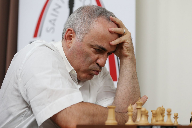 Garis Kasparovas atkirto dėl rasizmo šachmatuose<br>AFP/Scanpix.com nuotr.