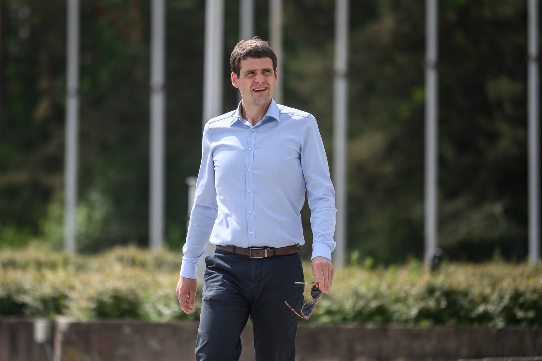 """Savo funkciją koalicinėje dėlionėje, TS-LKD strateginiame matyme, surado ir Remigijaus Žemaitaičio vedama """"Laisvės ir teisingumo"""" partija.<br>V.Skaraičio nuotr."""