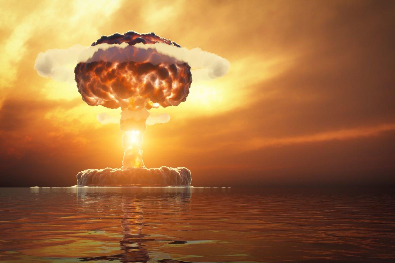 1946 m. Bikini atolo Ramiajame vandenyne lagūnoje, JAV branduolinių bandymų teritorijoje, pirmąkart po Antrojo pasaulinio karo susprogdinta atominė bomba.<br>123rf nuotr.
