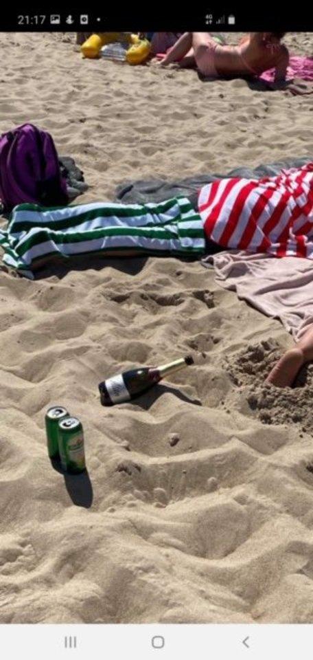 Palangos paplūdimys.<br>Asmeninio albumo nuotr.