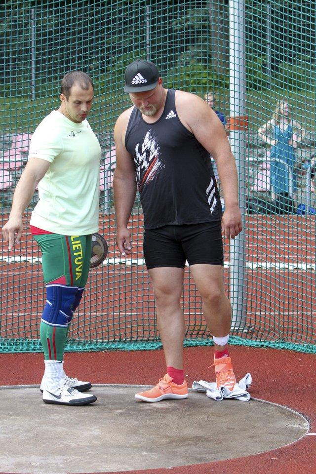 Andrius Gudžius dalyvavo varžybose Vilniuje.<br>V.Ščiavinsko nuotr.