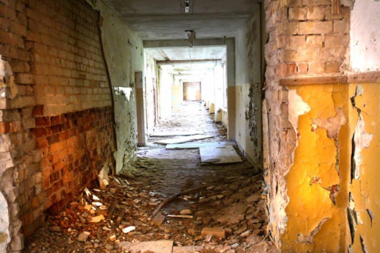 Koridoriai išdaužyti.<br>A.Švelnos nuotr.