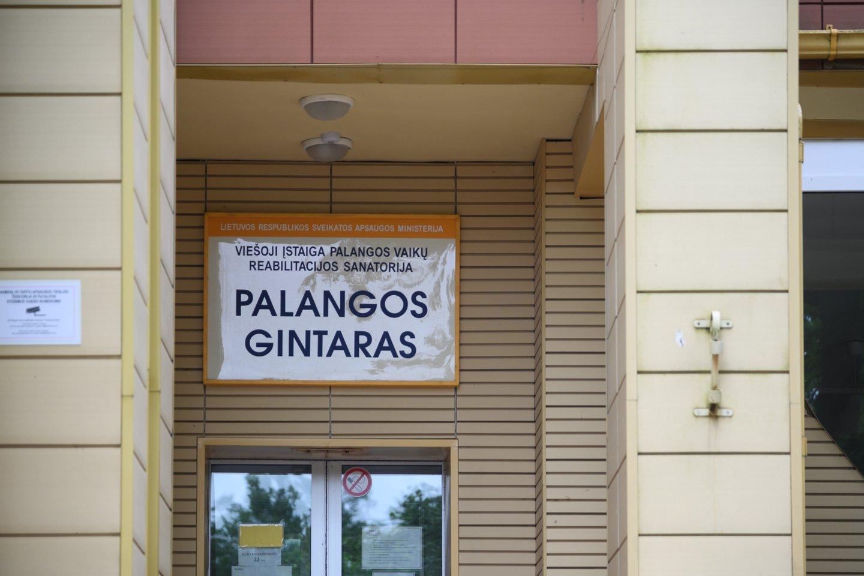 """Sanatorija """"Palangos Gintaras"""".<br>V.Skaraičio nuotr."""
