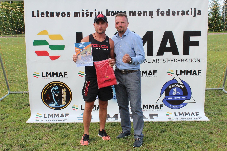 LMMF vadovas Mindaugas Smirnovas<br>organizatorių nuotr.