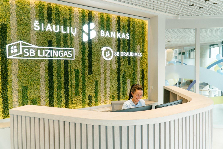 """Šiaulių banko grupė – didžiausias verslo centro """"Sqveras"""" nuomininkas.<br>""""Šiaulių banko"""" nuotr."""