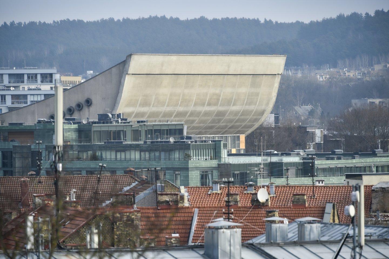 Planai vietoj 1971-aisiais statytų nebenaudojamų Vilniaus koncertų ir sporto rūmų įrengti konferencijų centrą brandinami nuo 2015-ųjų.<br>V.Ščiavinsko nuotr.