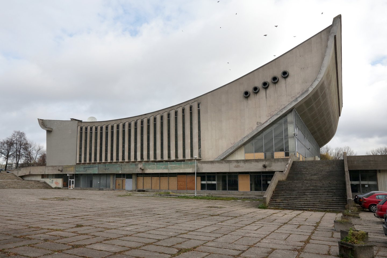 Planai vietoj 1971-aisiais statytų nebenaudojamų Vilniaus koncertų ir sporto rūmų įrengti konferencijų centrą brandinami nuo 2015-ųjų.<br>V.Balkūno nuotr.