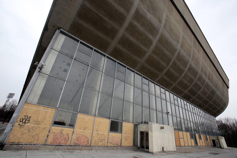 Planai vietoj 1971-aisiais statytų nebenaudojamų Vilniaus koncertų ir sporto rūmų įrengti konferencijų centrą brandinami nuo 2015-ųjų.<br>R.Danisevičiaus nuotr.
