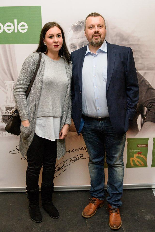 Andrius Užkalnis ir Fausta Marija Leščiauskaitė.<br>D.Umbraso nuotr.