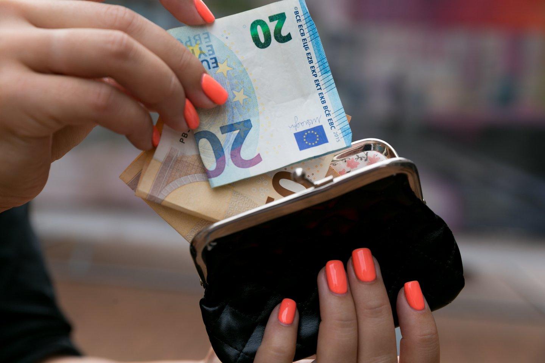 Į rinkimines partijų sąskaitas kapsi eurai.<br>T.Bauro nuotr.