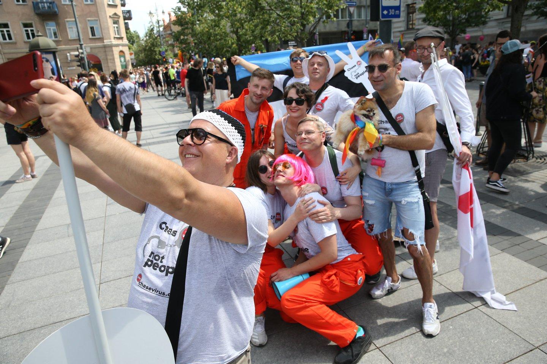 """""""Baltic Pride 2019"""" kadrai.<br>R.Danisevičiaus nuotr."""