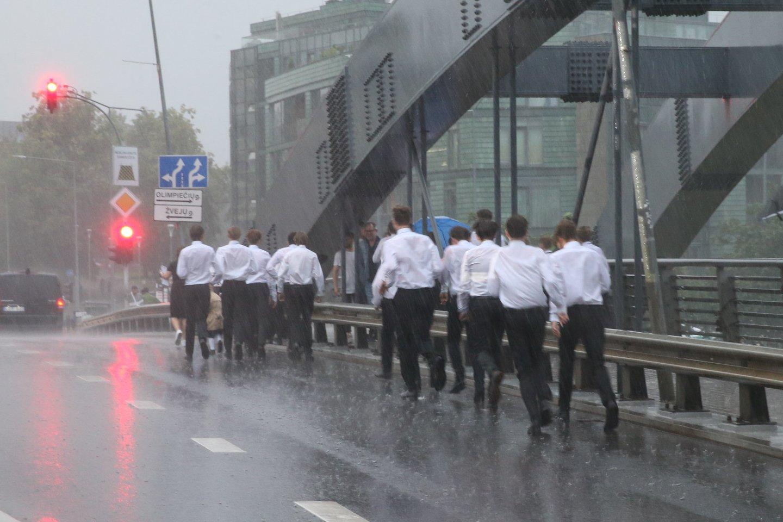 Lietuvą skalaus lietūs.<br>R.Danisevičiaus nuotr.