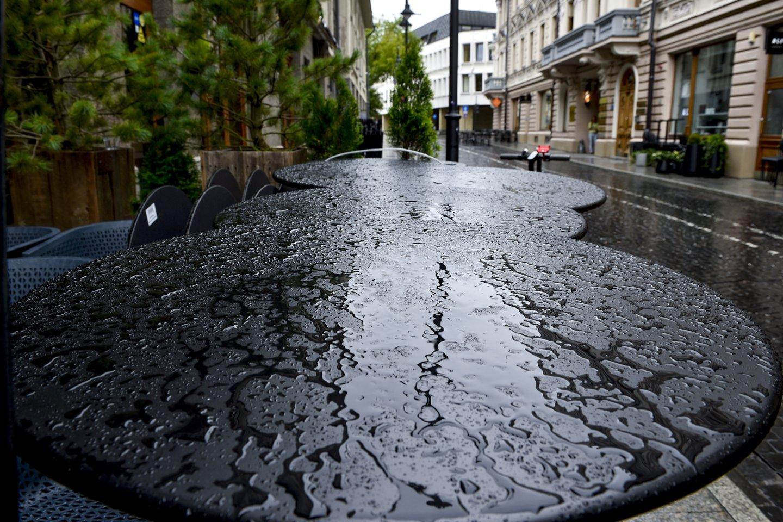 Lietuvą skalaus lietūs.<br>V.Ščiavinsko nuotr.