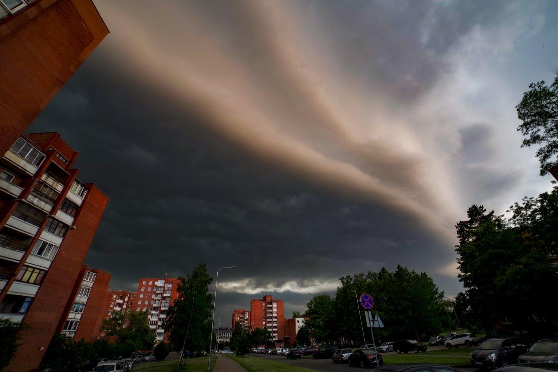 Orai bus neramūs.<br>V.Ščiavinsko nuotr.