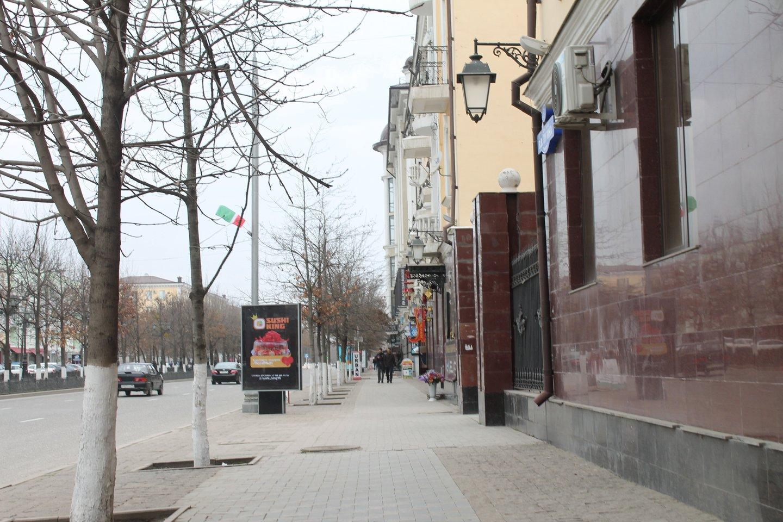 Čečėnijos sostinė Groznas.<br>Lrytas.lt nuotr.