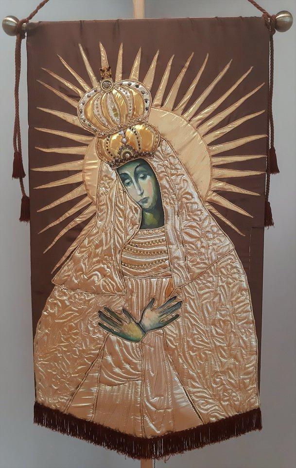 Aušros Vartų Švč. mergelė Marija.<br>G.Pilaičio nuotr.
