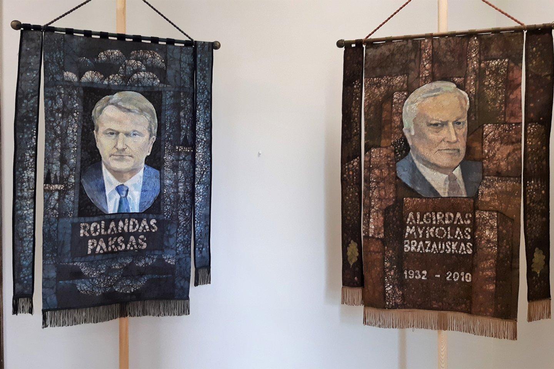 """S. Kanaverskytė. """"Lietuvos prezidentai"""".<br>G.Pilaičio nuotr."""