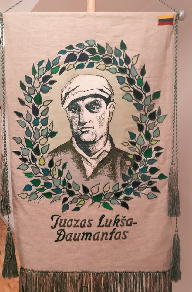 """""""Lietuvos didieji"""". Rezistentas Juozas Lukša-Daumantas.<br>G.Pilaičio nuotr."""